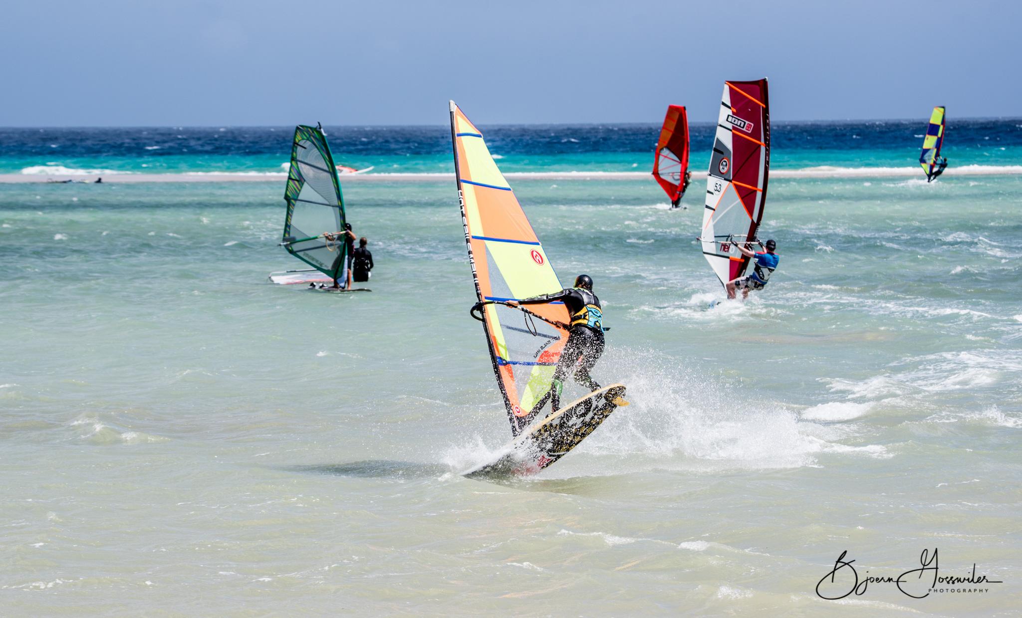 Freestyle windsurf Fuerte