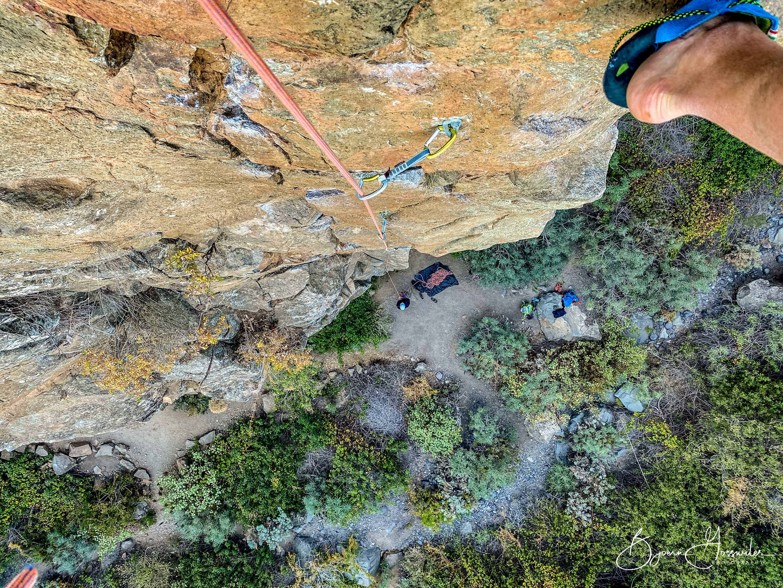 Climbing Tenerife